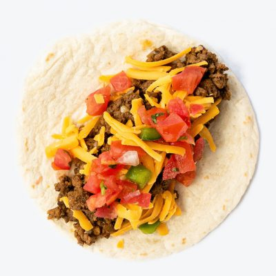Taco Monster Cheeseburger Taco